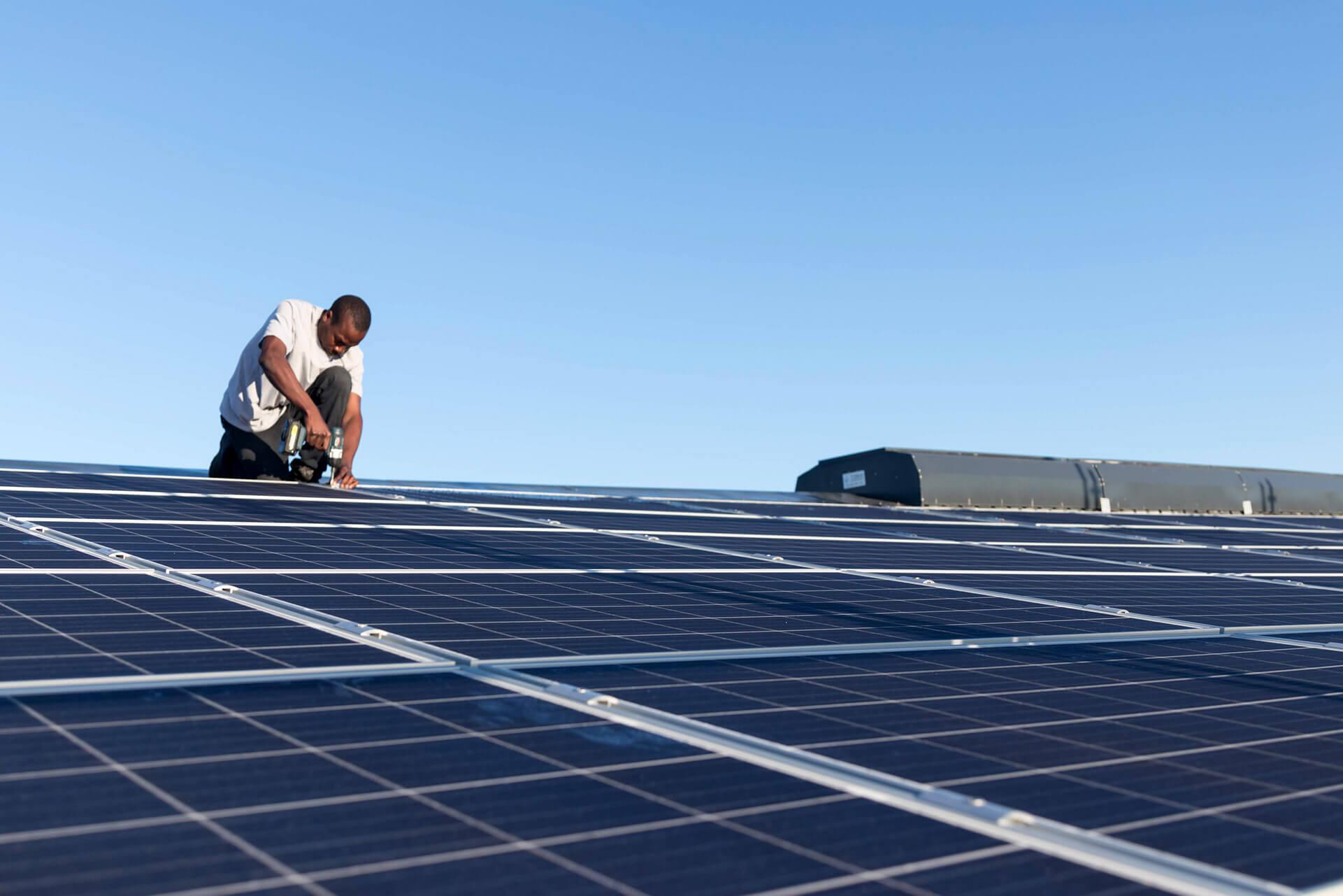 Decentral Energy Solar Installation
